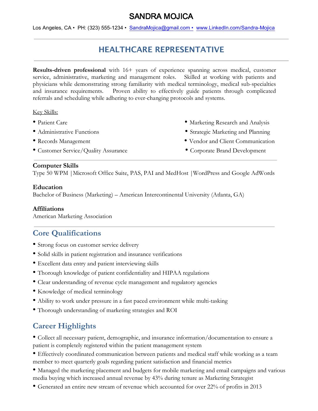 Professional Resume And Cover Letter Writing Services Gallery
